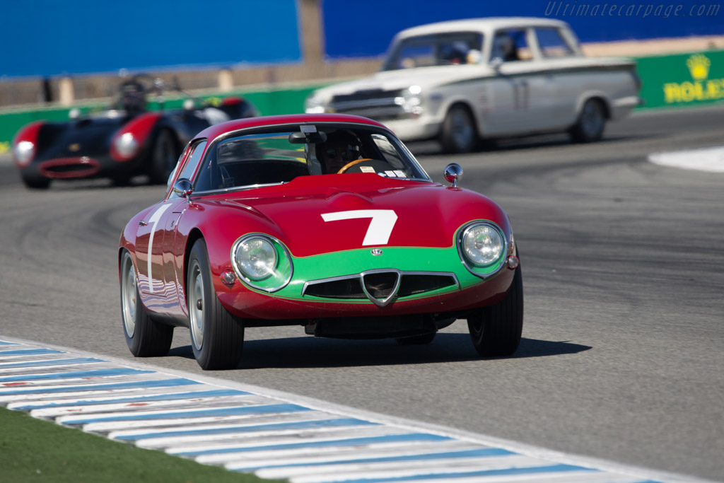Alfa Romeo TZ - Chassis: AR750060 - Driver: Marnix Dillenius  - 2014 Monterey Motorsports Reunion
