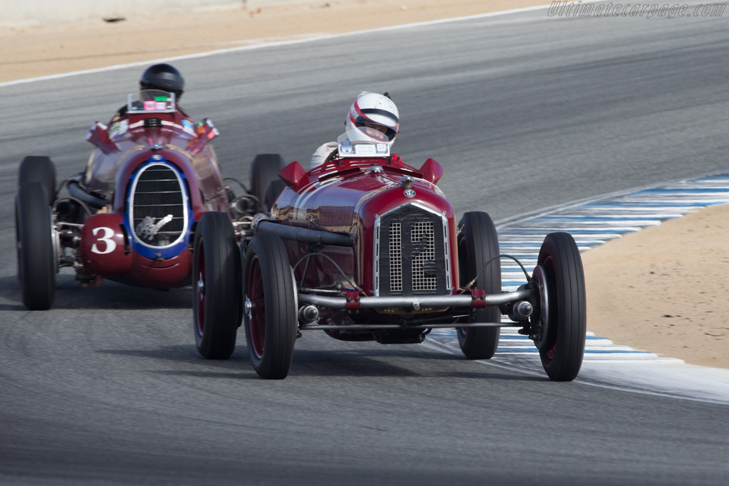 Alfa Romeo Tipo B - Chassis: 50005 - Driver: Erickson Shirley  - 2014 Monterey Motorsports Reunion