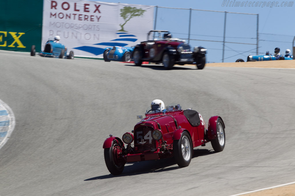 Aston Martin 2 Litre Ulster - Chassis: E8868SO - Driver: Len Auerbach  - 2014 Monterey Motorsports Reunion