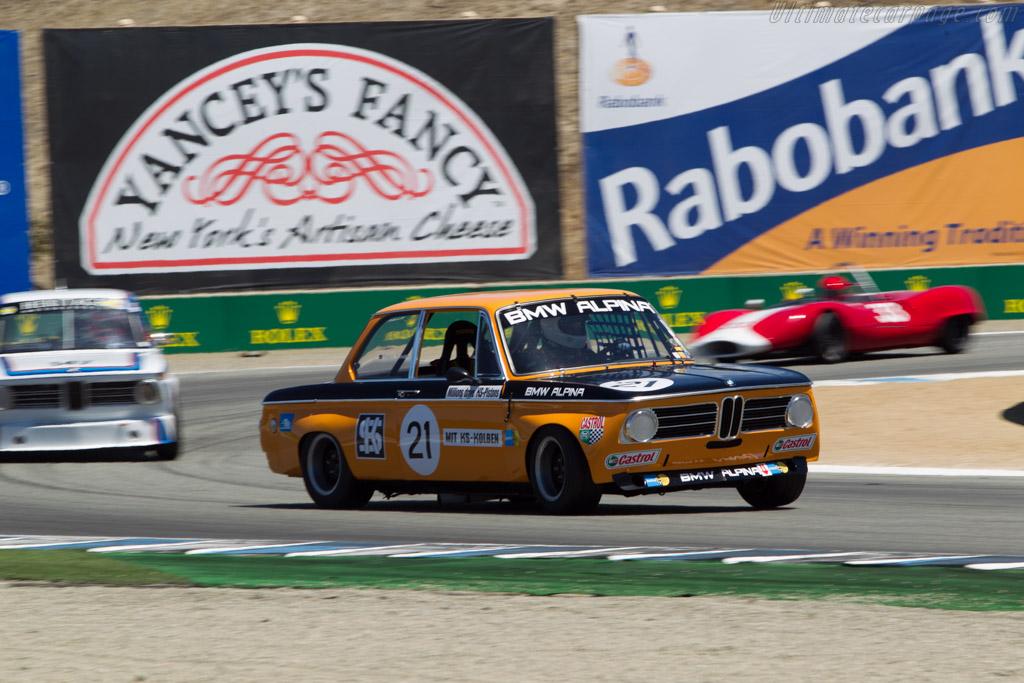 BMW Alpina 2002 ti - Chassis: 2628020 - Driver: Sam Smith  - 2014 Monterey Motorsports Reunion