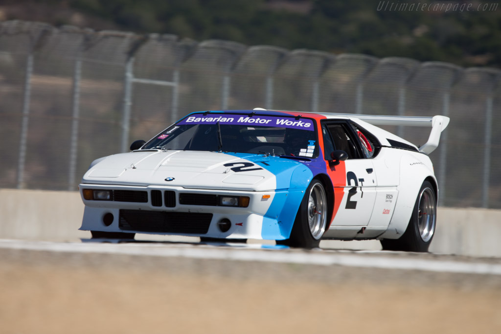 BMW M1 Group 4 - Chassis: 4301223 - Driver: Randy Pobst  - 2014 Monterey Motorsports Reunion