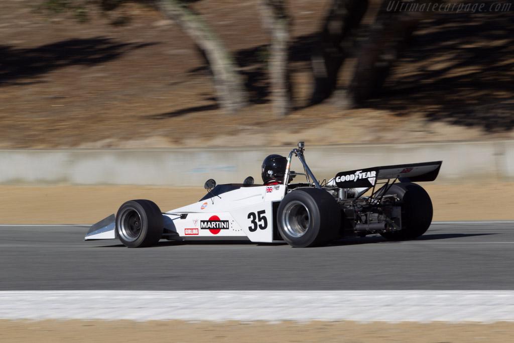 Brabham BT40 - Chassis: BT40/15 - Driver: Jonathan Burke  - 2014 Monterey Motorsports Reunion