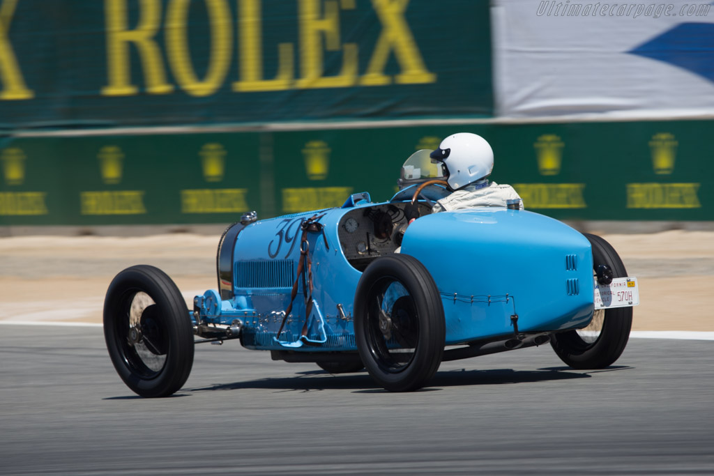 Bugatti Type 39A - Chassis: 4810 - Driver: Charlie Shalvoy  - 2014 Monterey Motorsports Reunion