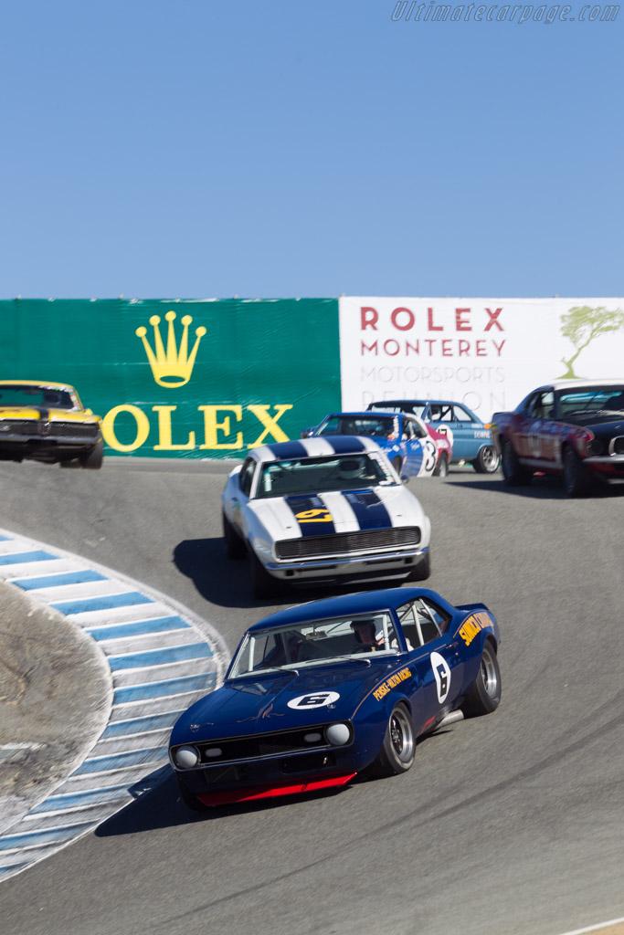 Chevrolet Camaro  - Driver: Tom McIntyre  - 2014 Monterey Motorsports Reunion