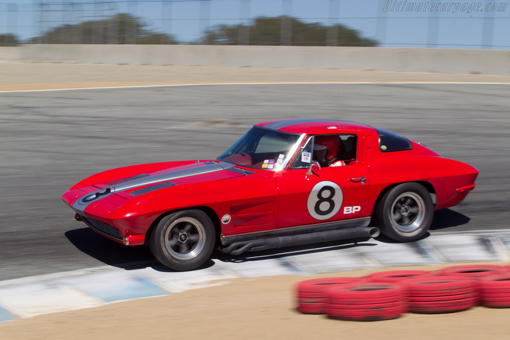 Chevrolet Corvette  - Driver: Mark Hamilton Peters  - 2014 Monterey Motorsports Reunion