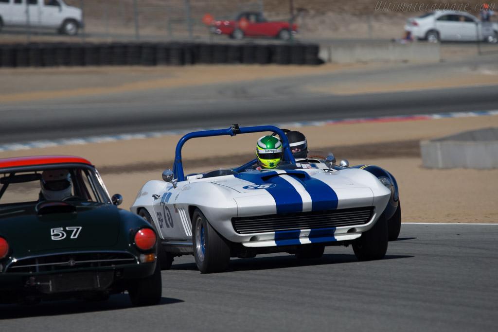 Chevrolet Corvette - Chassis: 194675S113056 - Driver: Thomas Claridge  - 2014 Monterey Motorsports Reunion