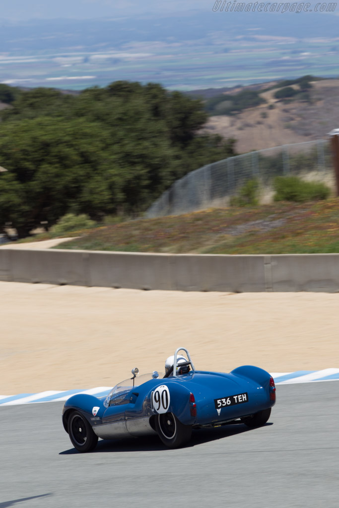 Cooper Monaco T49 - Chassis: CM/6/59 - Driver: Terry Hefty  - 2014 Monterey Motorsports Reunion