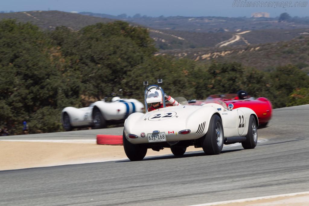 Devin Ryan Sports Racer - Chassis: SR-57-001 - Driver: Robert Bodin  - 2014 Monterey Motorsports Reunion