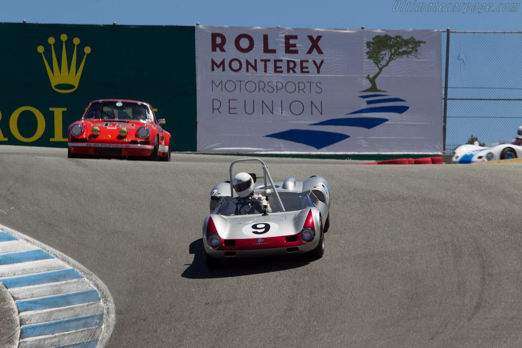 Elva Mk7 Porsche - Chassis: 70/023 - Driver: Dave Hagan  - 2014 Monterey Motorsports Reunion