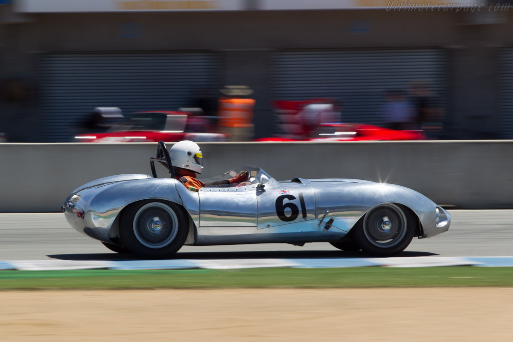 Elva MkIIB - Chassis: 100/44 - Driver: Robert Engberg  - 2014 Monterey Motorsports Reunion
