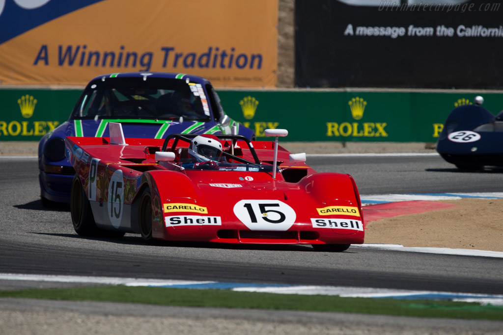 Ferrari 312 PB - Chassis: 0880 - Driver: Ernie Prisbe  - 2014 Monterey Motorsports Reunion