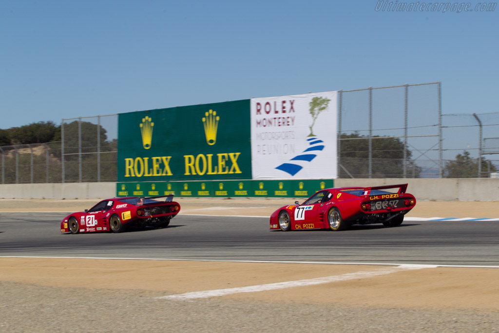 Ferrari 512 BB LM - Chassis: 31589 - Driver: Lawrence Stroll  - 2014 Monterey Motorsports Reunion