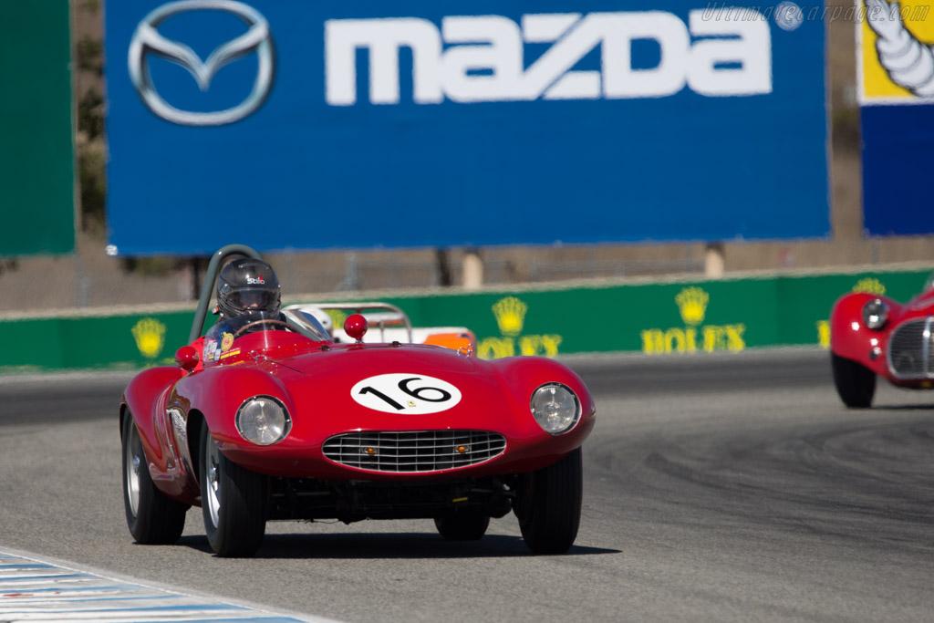 Ferrari 750 Monza - Chassis: 0462M - Driver: David Lockwood  - 2014 Monterey Motorsports Reunion