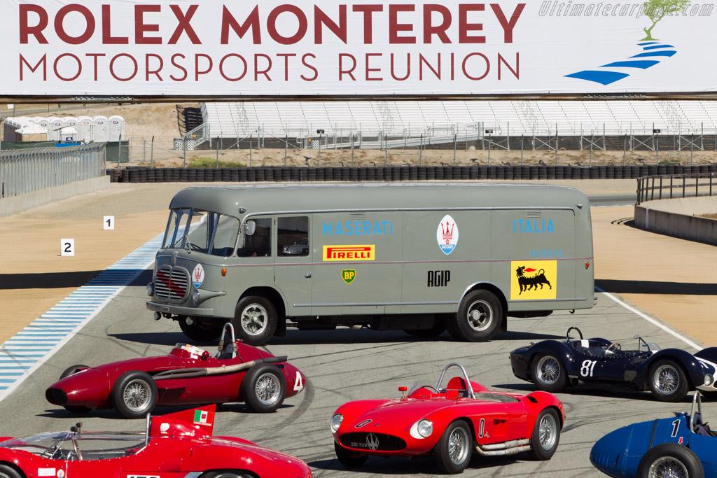 Fiat Maserati Transporter  - Entrant: Lawrence Auriana  - 2014 Monterey Motorsports Reunion