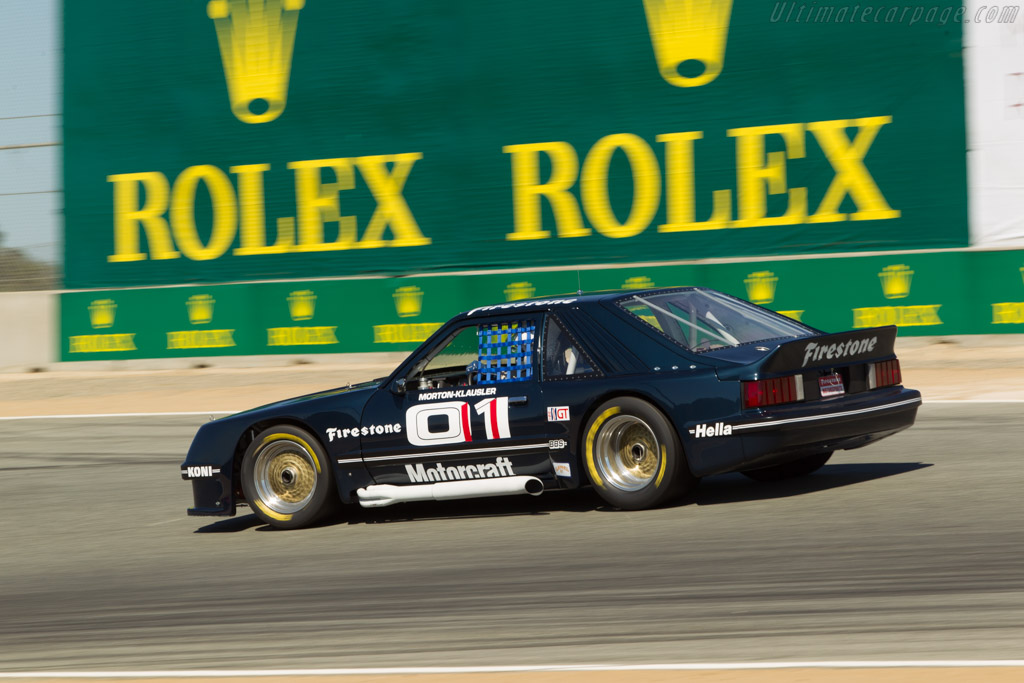 Ford Mustang - Chassis: 1 - Driver: John Morton  - 2014 Monterey Motorsports Reunion
