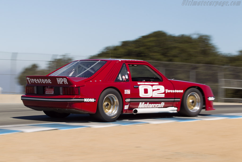 Ford Mustang - Chassis: 2 - Driver: Chris Liebenberg  - 2014 Monterey Motorsports Reunion
