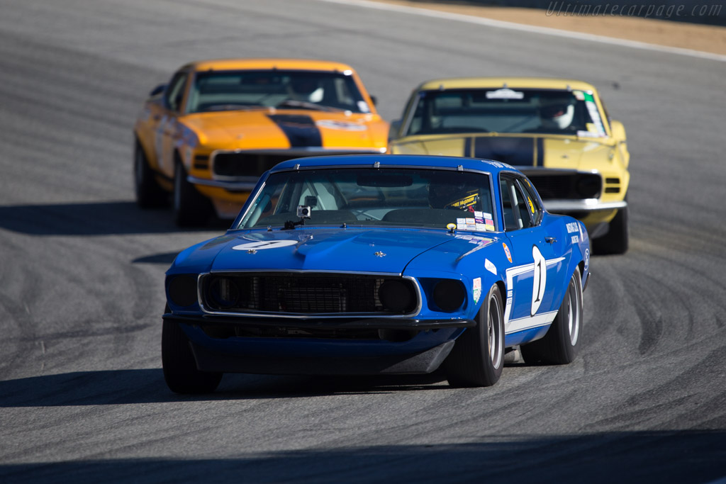 Ford Mustang Boss 302 Chassis 9go2m14628 Driver Jim