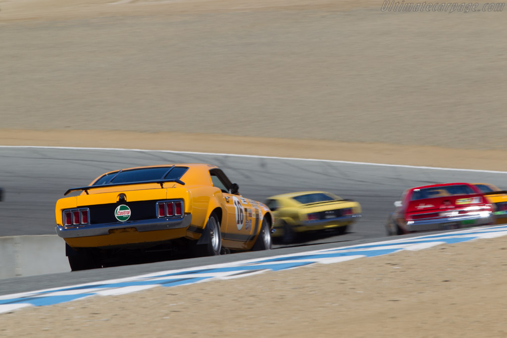 Ford Mustang BOSS 302  - Driver: Mike McGovern  - 2014 Monterey Motorsports Reunion