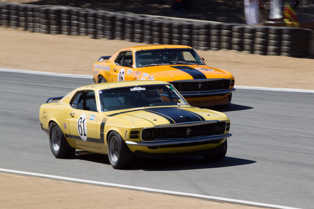 Ford Mustang BOSS 302 - Chassis: OF026144375 - Driver: Jim Halsey  - 2014 Monterey Motorsports Reunion