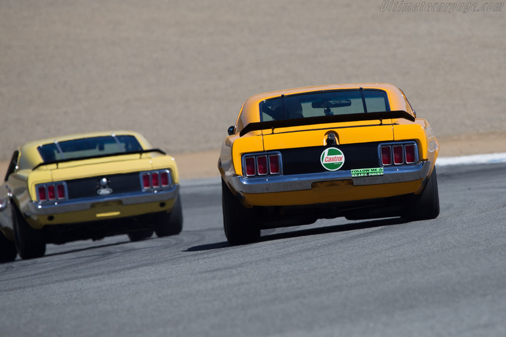 Ford Mustang BOSS 302  - Driver: Jim Hague  - 2014 Monterey Motorsports Reunion