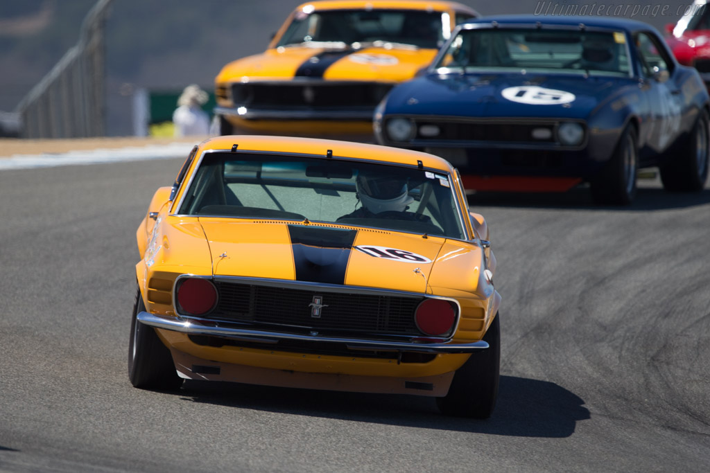 Ford Mustang BOSS 302 - Chassis: 70TA-01 - Driver: Chris Liebenberg  - 2014 Monterey Motorsports Reunion
