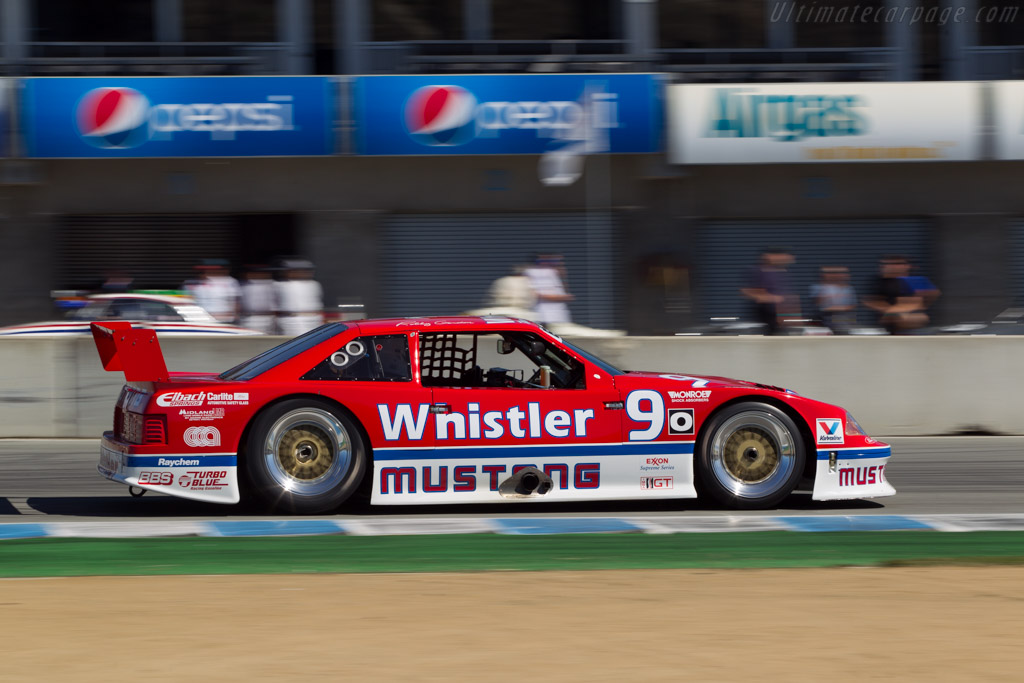 Ford Mustang IMSA GTO - Chassis: Must-008-91 - Driver: Steve Schuler  - 2014 Monterey Motorsports Reunion