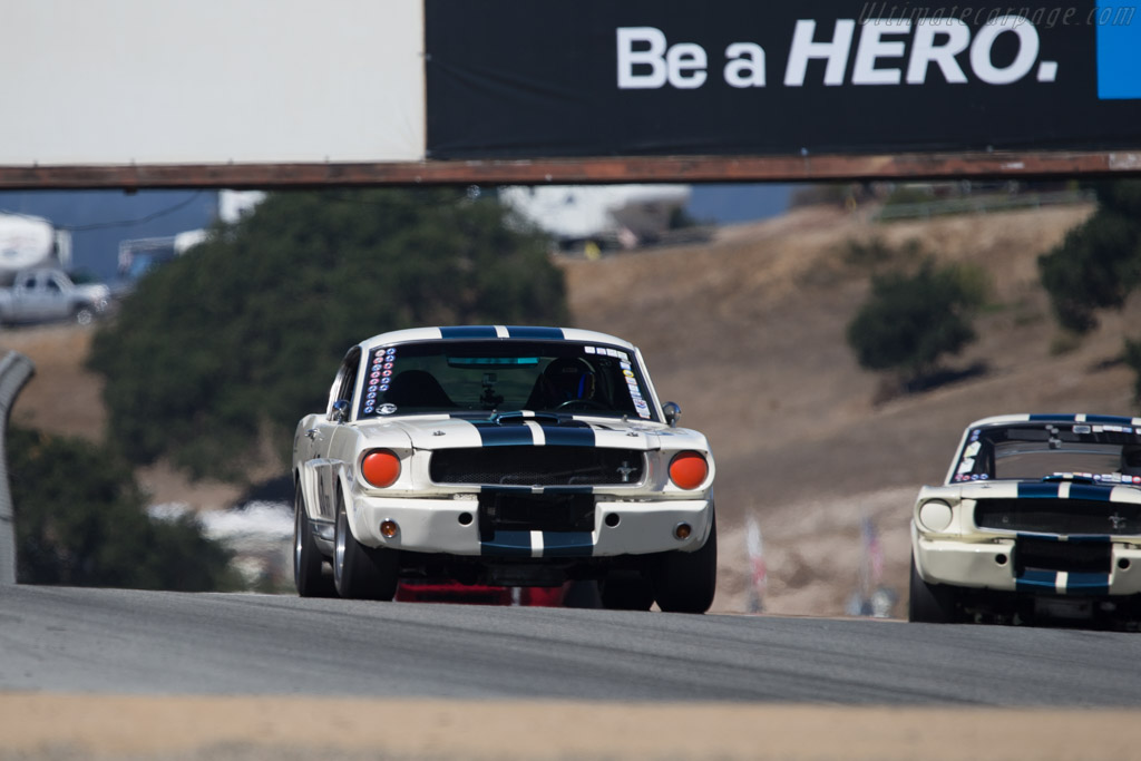 Ford Shelby Mustang - Chassis: 5F09A682194 - Driver: Robert Stockwell  - 2014 Monterey Motorsports Reunion