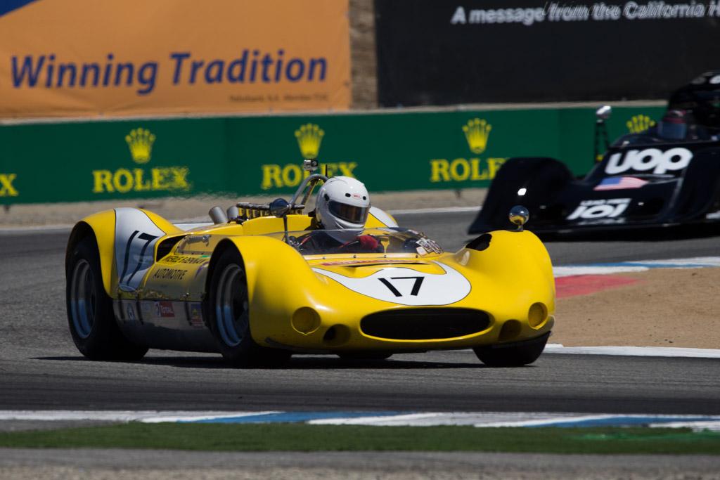 Genie Mk10B - Chassis: H130 - Driver: A.C. D'Augustine - 2014 Monterey Motorsports Reunion