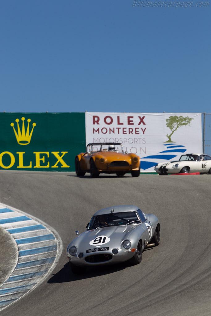 Jaguar E-Type Low Drag - Chassis: 880400 - Driver: Nick Colonna  - 2014 Monterey Motorsports Reunion