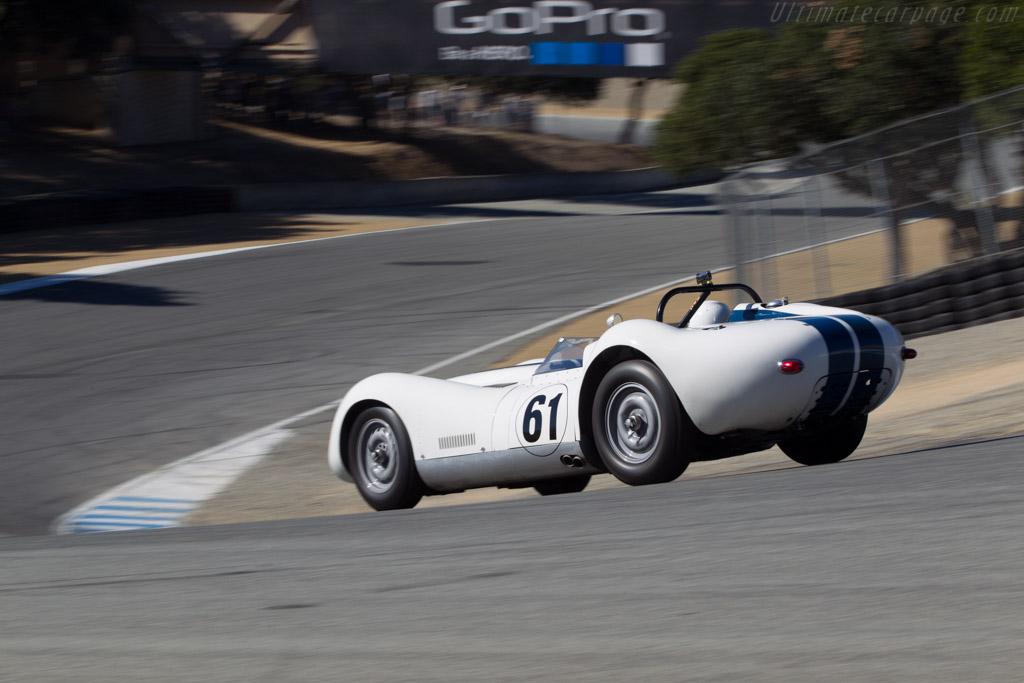 Lister Knobbly Jaguar  - Driver: Howard Turner  - 2014 Monterey Motorsports Reunion
