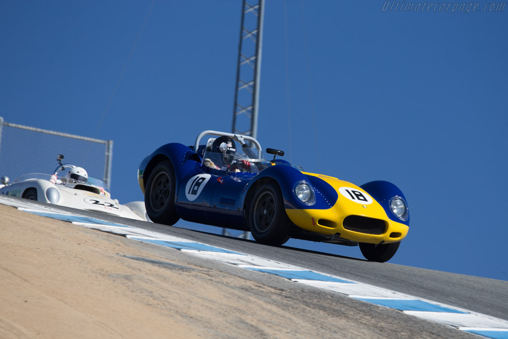 Lister Knobbly Jaguar - Chassis: BHL 112 - Driver: Tom Malloy  - 2014 Monterey Motorsports Reunion