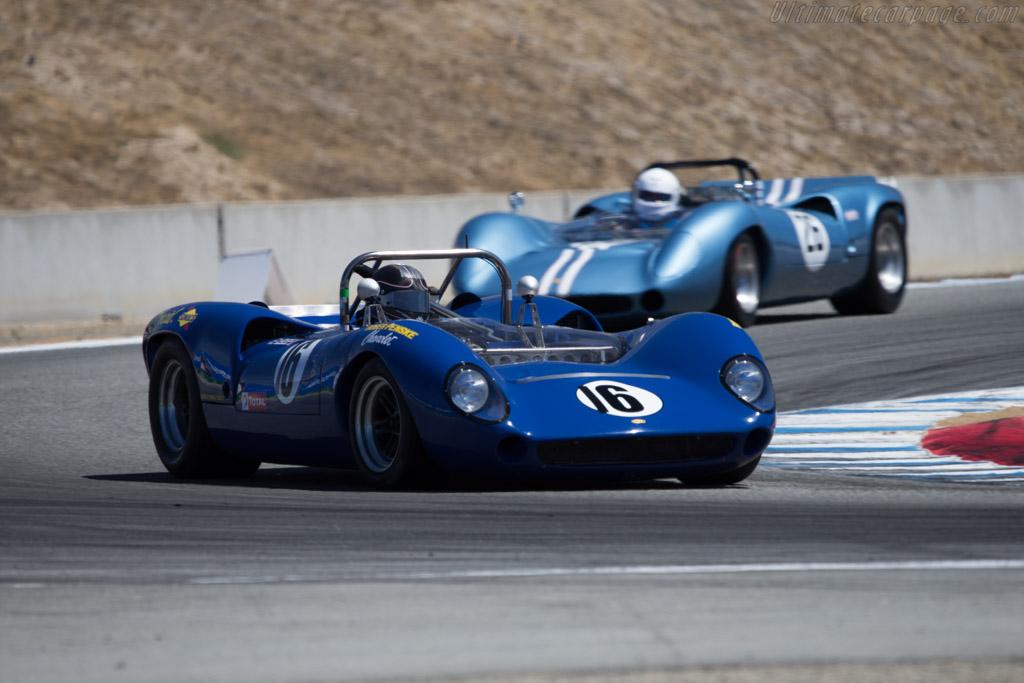 Lola T70 Mk2 Spyder Chevrolet - Chassis: SL71/21 - Driver: Norm Cowdrey  - 2014 Monterey Motorsports Reunion
