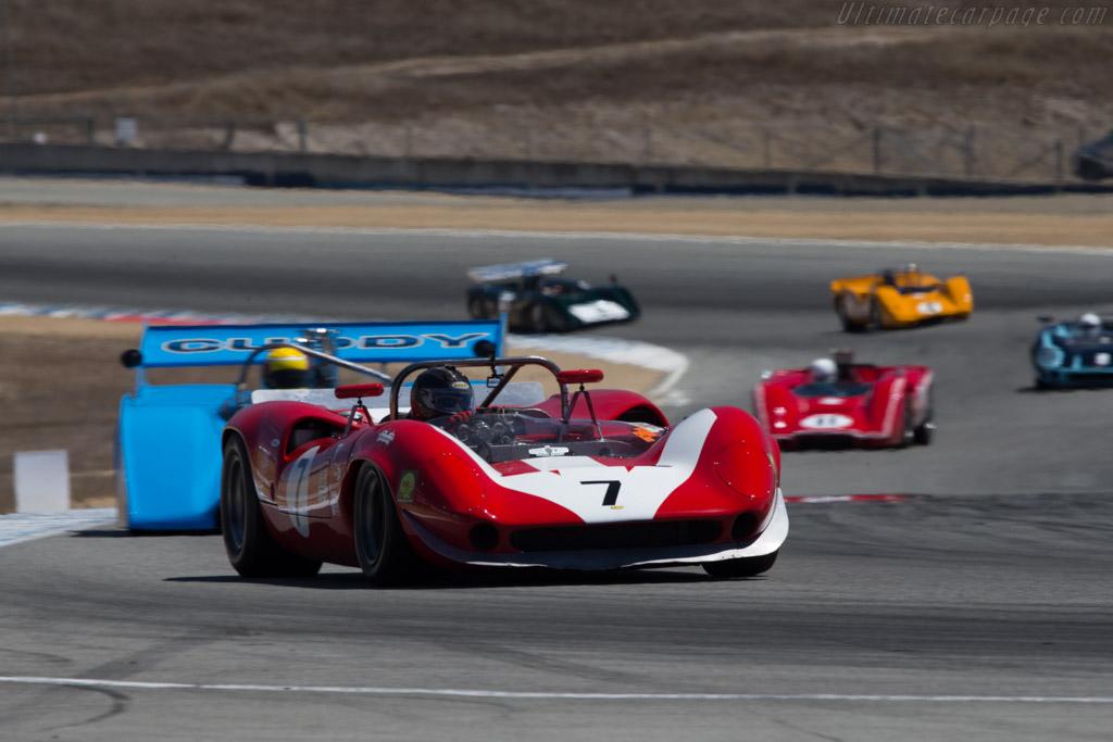 Lola T70 Mk2 Spyder Chevrolet - Chassis: SL71/17 - Driver: Johan Woerheide  - 2014 Monterey Motorsports Reunion
