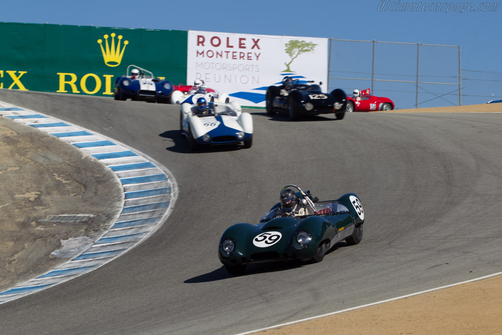 Lotus 15 Climax - Chassis: 602/1 - Driver: Don Orosco  - 2014 Monterey Motorsports Reunion