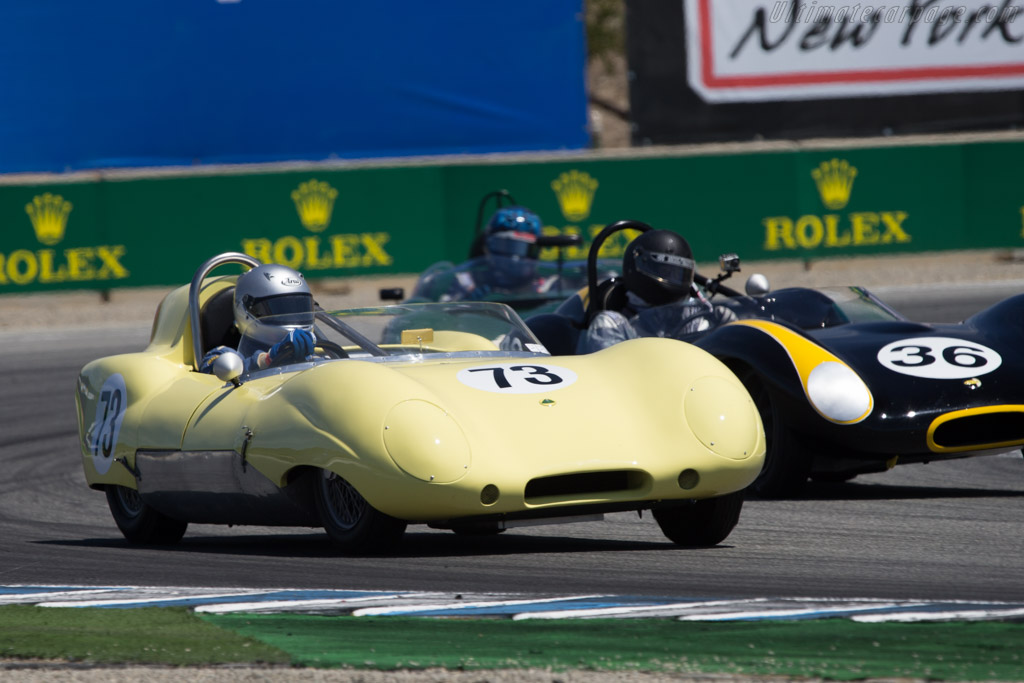 Lotus Eleven - Chassis: 258 - Driver: Randy Hill  - 2014 Monterey Motorsports Reunion