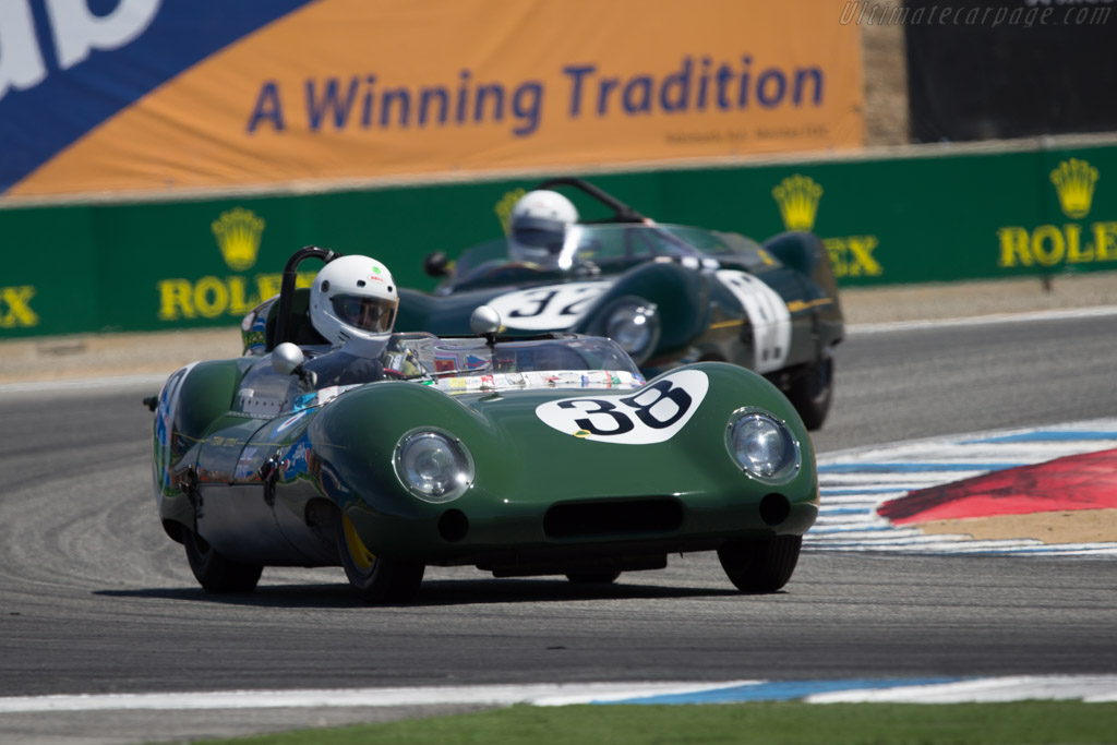 Lotus Eleven - Chassis: 506 - Driver: Bruce Miller  - 2014 Monterey Motorsports Reunion