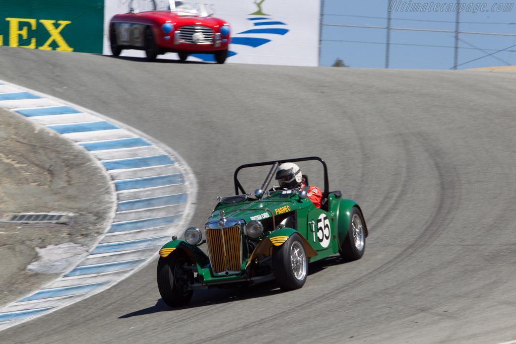 MG TD - Chassis: TD12190 - Driver: Karim Marouf  - 2014 Monterey Motorsports Reunion