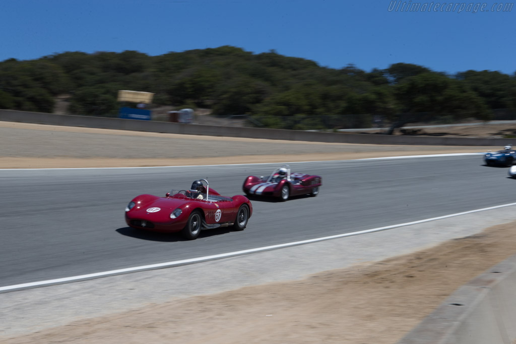 Maserati 200SI - Chassis: 2425 - Driver: Ned Spieke  - 2014 Monterey Motorsports Reunion