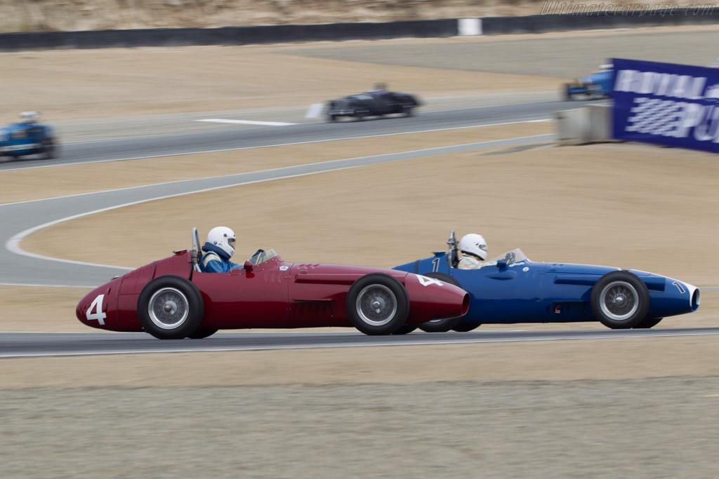 Maserati 250F - Chassis: 2527 - Driver: Jeffrey O'Neill  - 2014 Monterey Motorsports Reunion