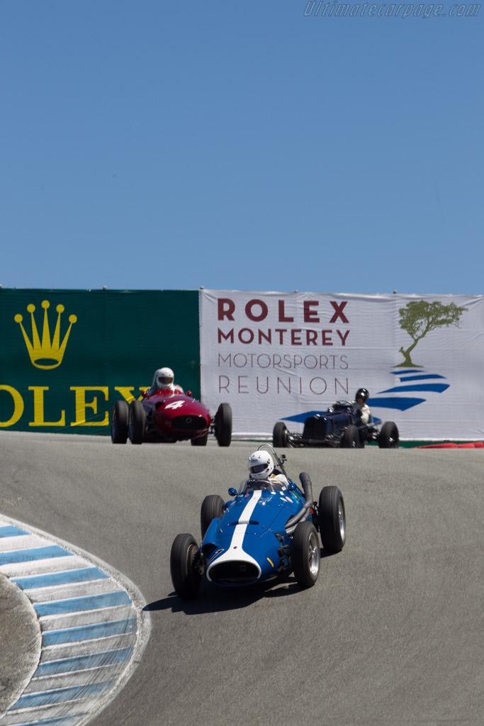 Maserati 250F Piccolo - Chassis: 2534 - Driver: Jos Koster  - 2014 Monterey Motorsports Reunion