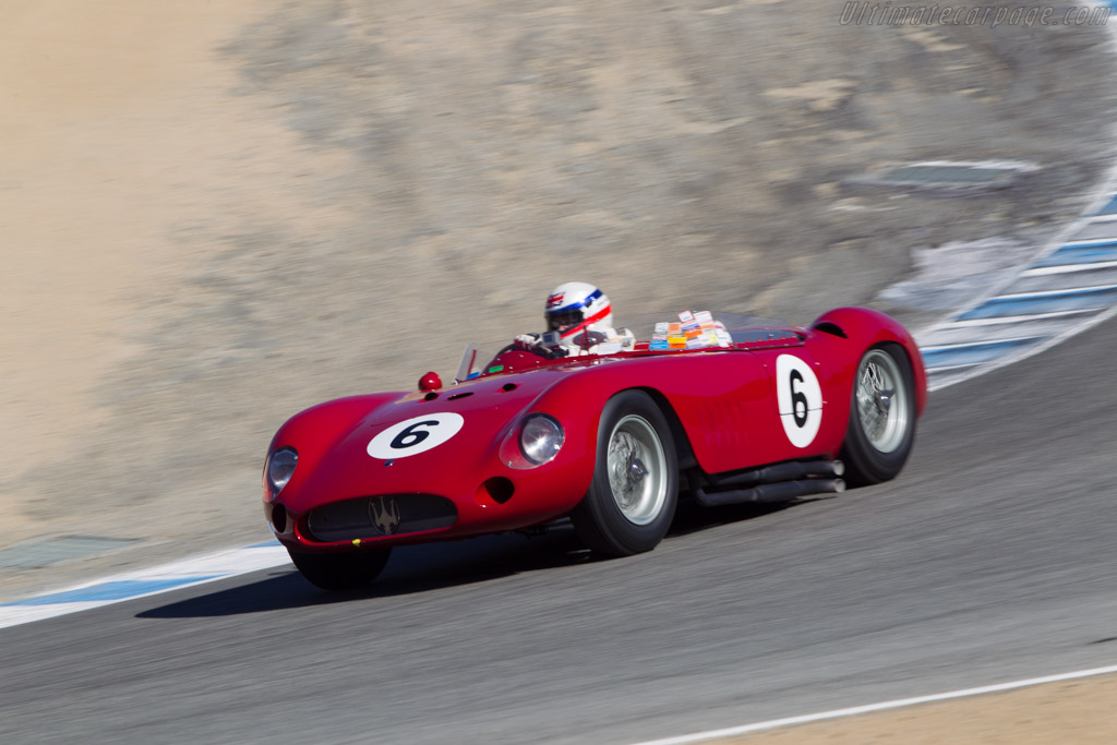 Maserati 300S - Chassis: 3072 - Driver: Derek Bell  - 2014 Monterey Motorsports Reunion