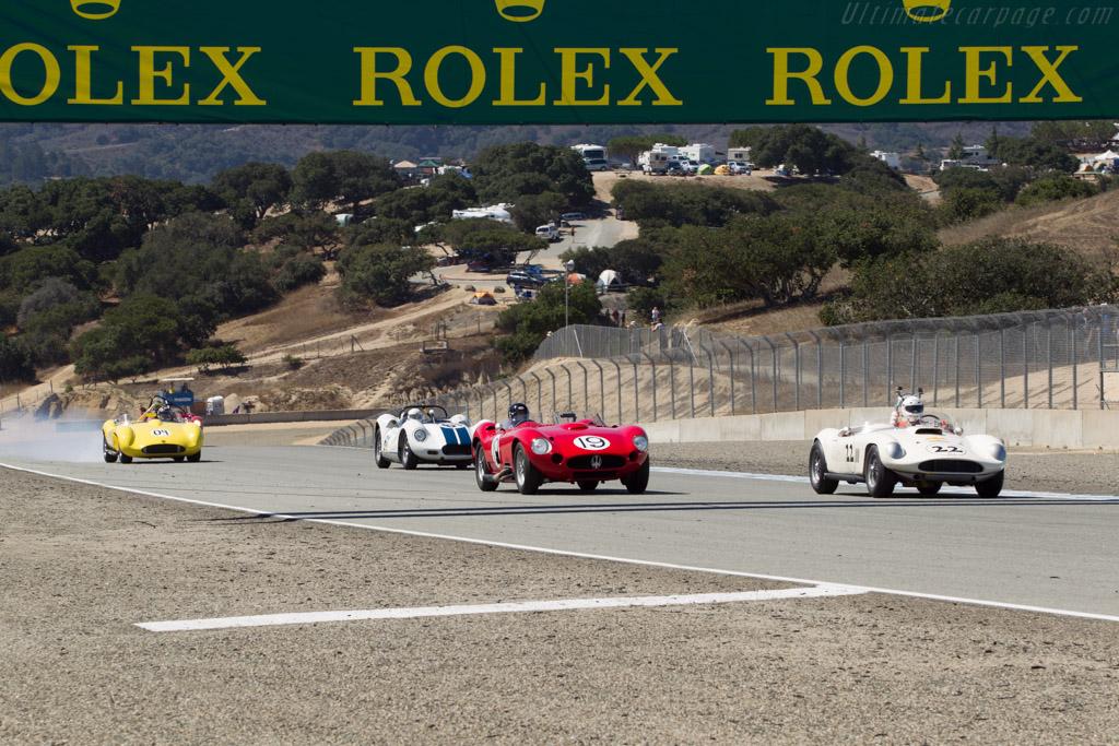 Maserati 450S - Chassis: 4503 - Driver: Rick Hall  - 2014 Monterey Motorsports Reunion