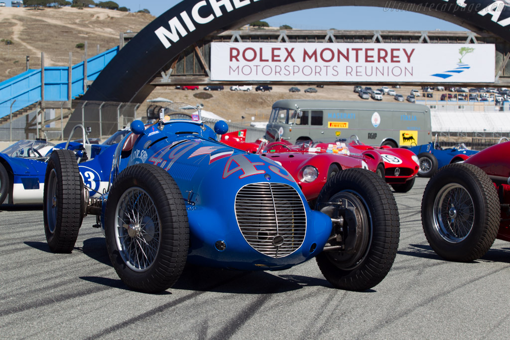 Maserati 8CTF - Chassis: 3030 - Entrant: The Revs Institute for Automotive Research  - 2014 Monterey Motorsports Reunion