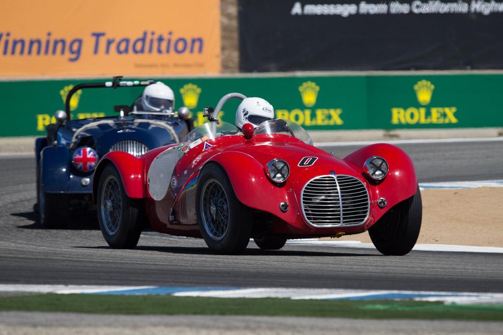 Maserati A6GCS - Chassis: 2039 - Driver: Jos Koster  - 2014 Monterey Motorsports Reunion
