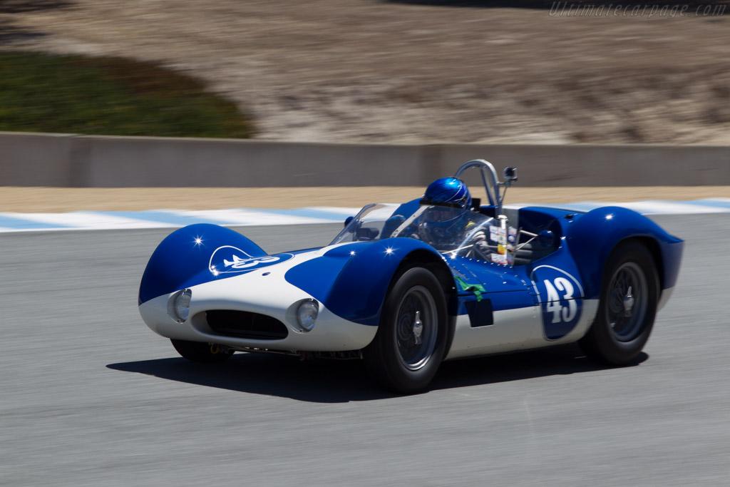 Maserati Tipo 60 Birdcage - Chassis: 2465 - Driver: Rob Walton  - 2014 Monterey Motorsports Reunion