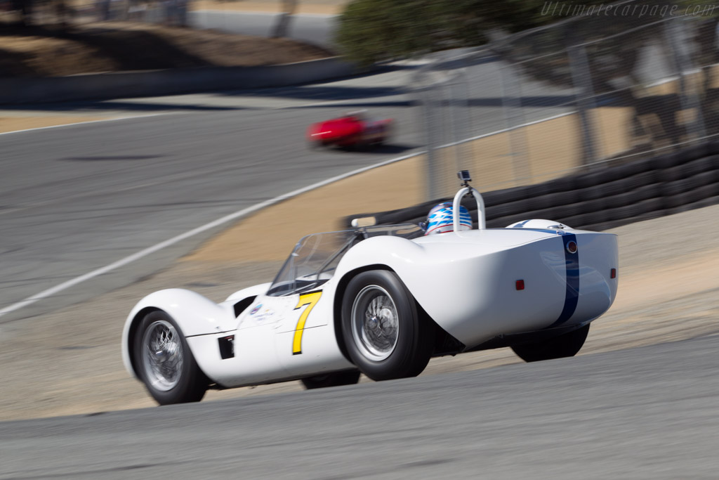 Maserati Tipo 61 Birdcage - Chassis: 2458 - Driver: Jonathan Feiber  - 2014 Monterey Motorsports Reunion
