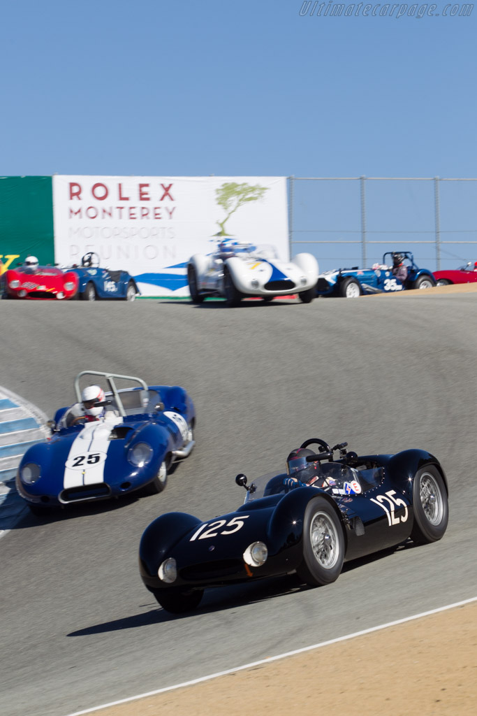 Maserati Tipo 61 Birdcage - Chassis: 2454 - Driver: Bruce Canepa  - 2014 Monterey Motorsports Reunion