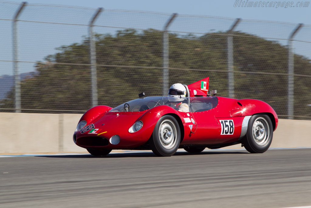 Maserati Tipo 63 Birdcage - Chassis: 63.004 - Driver: Jurgen Boden  - 2014 Monterey Motorsports Reunion