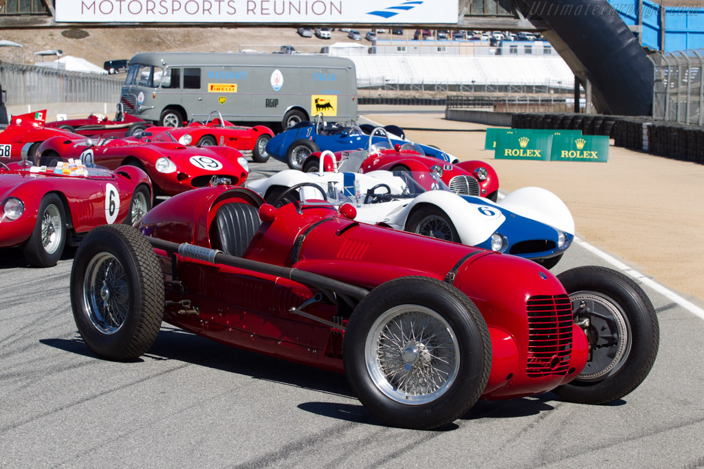 Maserati V8 RI - Chassis: 4501   - 2014 Monterey Motorsports Reunion