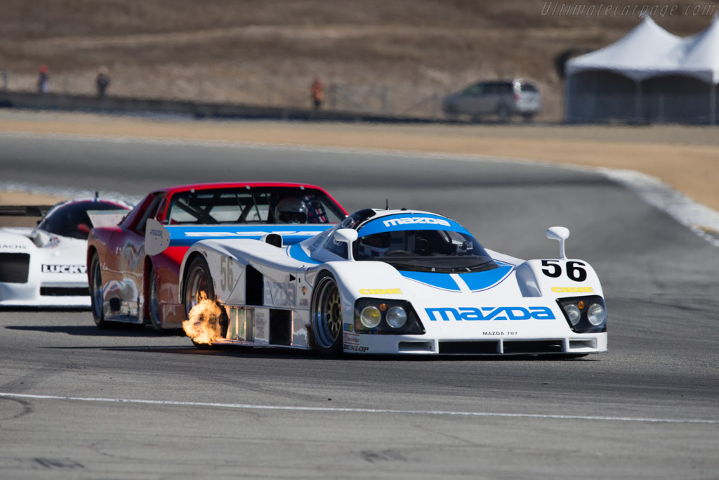 Mazda 787 - Chassis: 787 - 002 - Driver: Sylvain Tremblay  - 2014 Monterey Motorsports Reunion